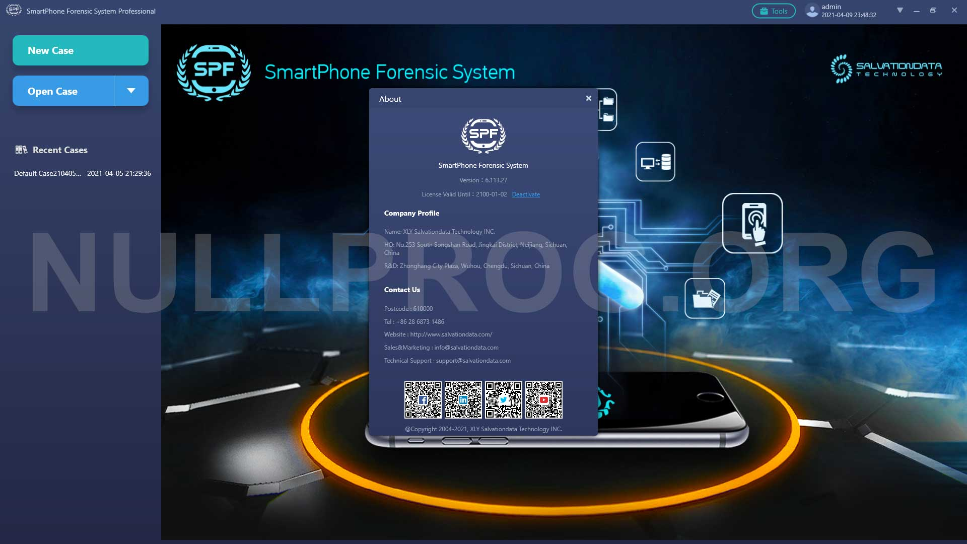 SPF Pro SmartPhone Forensic System Crack Download